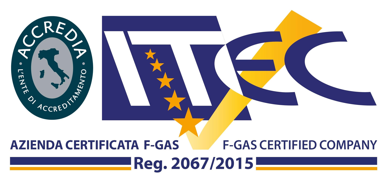 LOGO CERTIFICATO F-GAS REG. 2067-2015